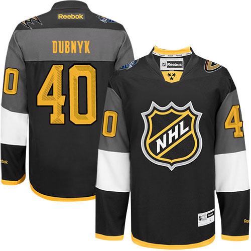 hot sale online a9cd8 d8299 Mens Reebok Minnesota Wild 40 Devan Dubnyk Authentic Black ...