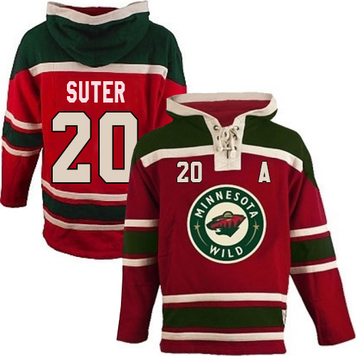 size 40 3e9ec 42064 Mens Old Time Hockey Minnesota Wild 20 Ryan Suter Premier ...