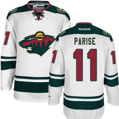 mn wild parise jersey